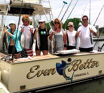 July Fishing Charter With Michelle